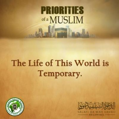 The Life of This World is Temporary - Abū Muqbil Suhairī